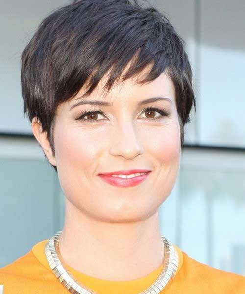 Pixie Hair Cut with Bangs Styles