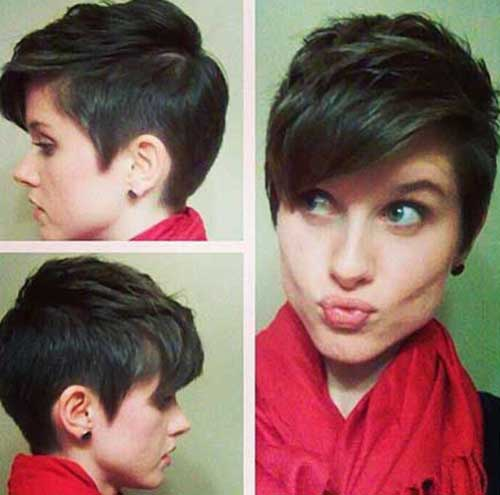 Short Pixie Hair Cut Styles