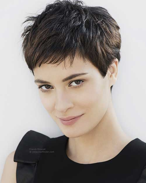 Very Short Pixie Hair Cut Styles