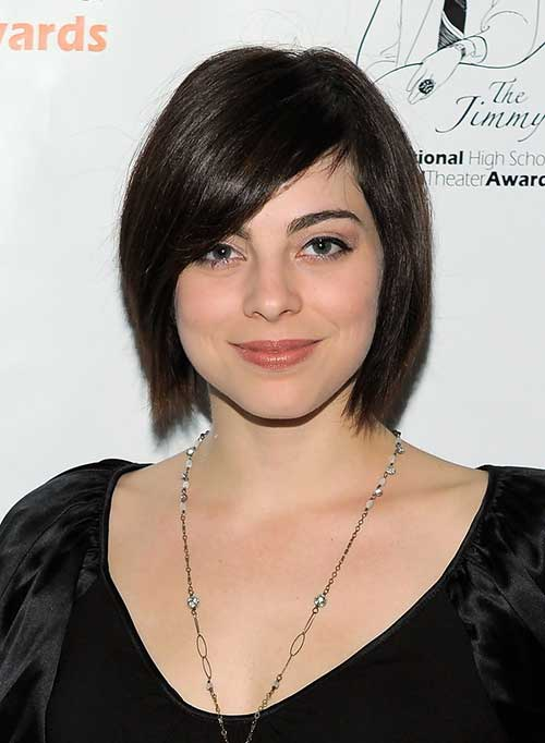 Short Hairstyles for Straight Hair-24