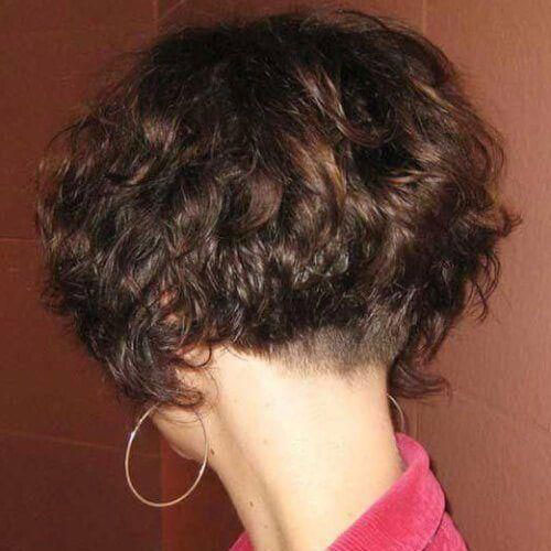 Short Curly Styles for Thick Hair