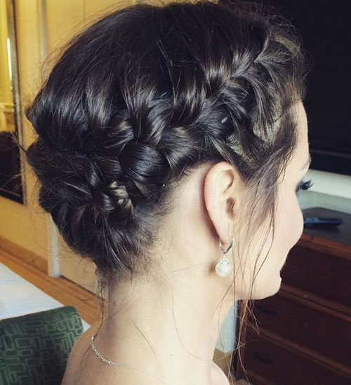 Braided Styles for Short Hair for Wedding