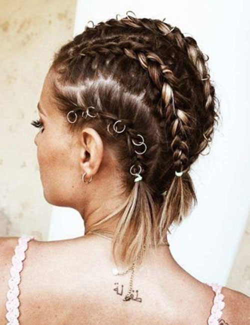 Chic Braided Styles for Short Hair