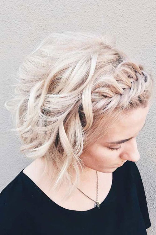 Easy Braided Styles for Short Hair