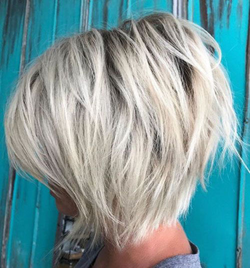 Easy Short Layered Hairstyles