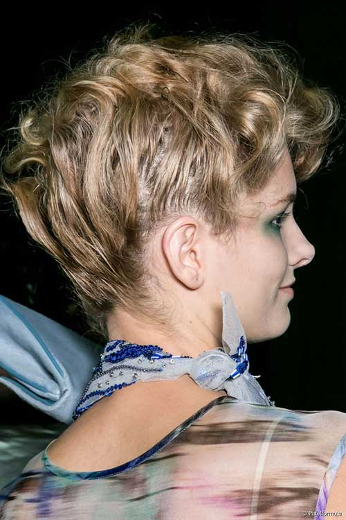 Formal Curly Updo Ideas