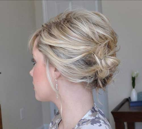 Formal Updo Ideas with Bobby Pin