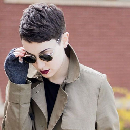 Short Pixie Styles for Thick Hair