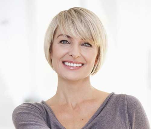 Short Pixie Haircuts with Bangs for Over 50