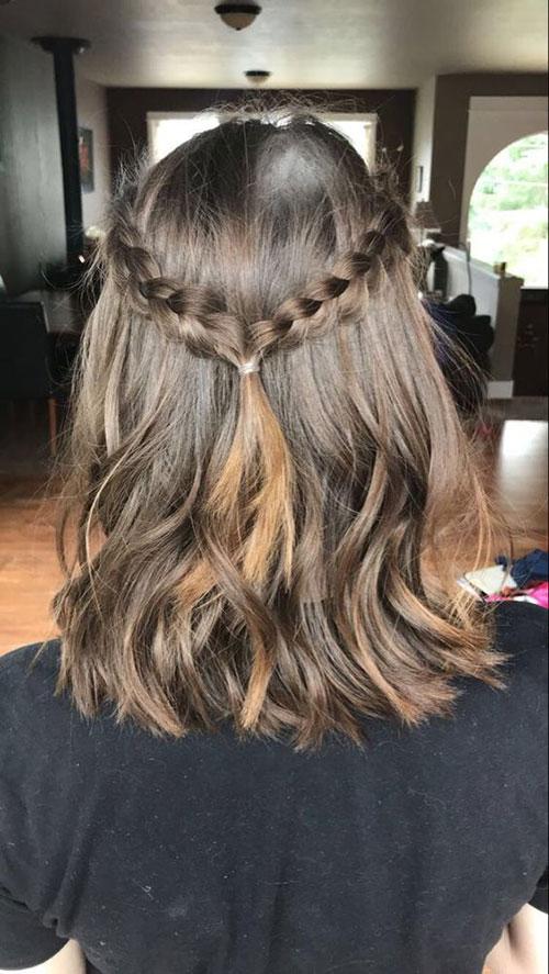 Short Braided Hairstyles for Short Hair