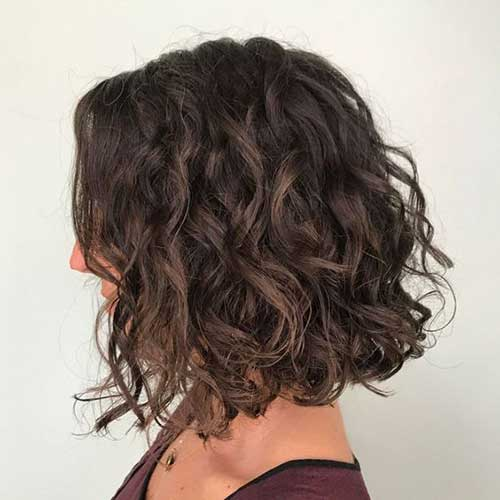 Stylish Short Curly Styles