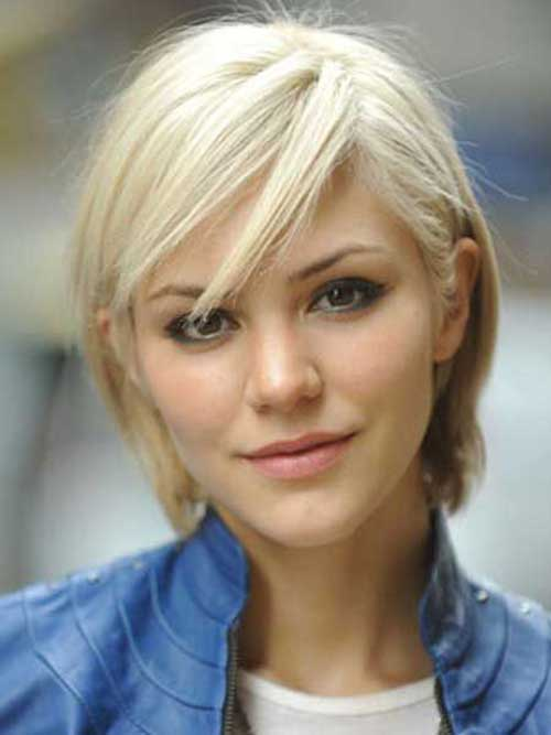 Short Fine Blonde Hairstyles for Women