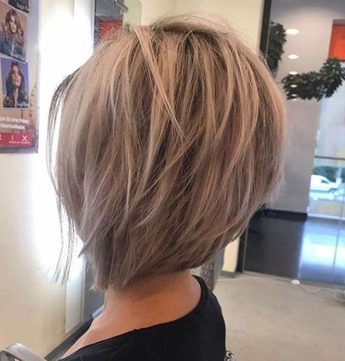 Short Layered Styles for Fine Hair