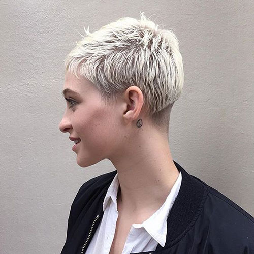 Disconnected Short Pixie Styles
