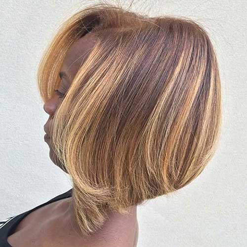 Natural Short Bob Hair Styles for Black Women