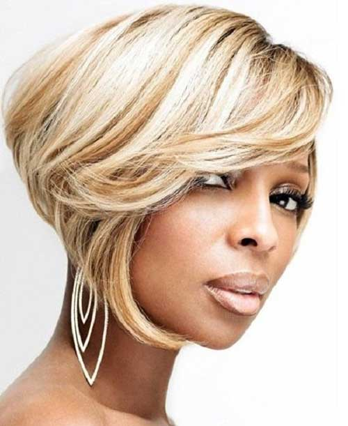 Natural Color Short Hair Styles for Black Women