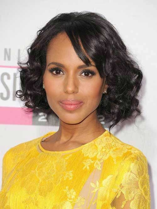 Natural Wavy Short Hair Styles for Black Women