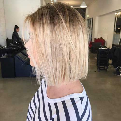 Short Hairstyles for Layered Straight Hair