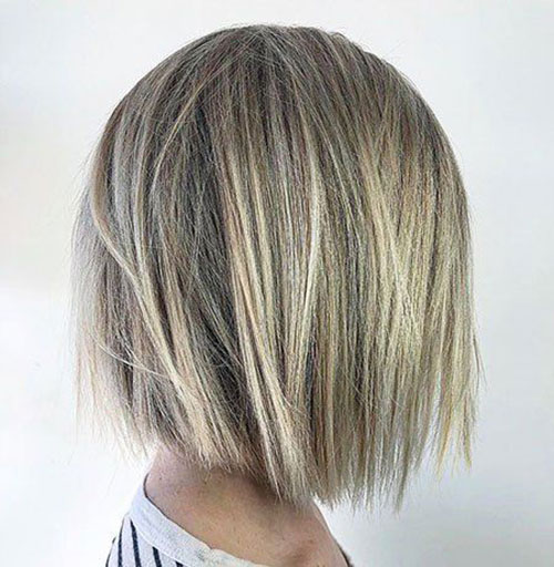 Short Hairstyles for Messy Straight Hair