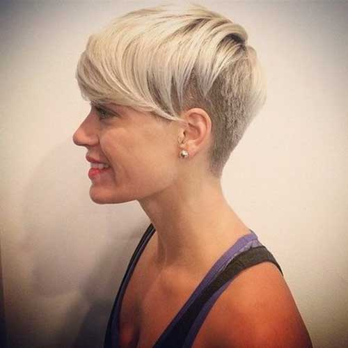 Short Undercut Hairstyles for Straight Hair