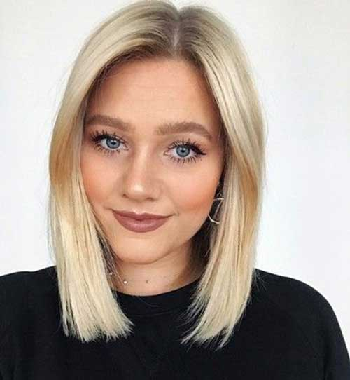 Short Hairstyles for Blonde Straight Hair
