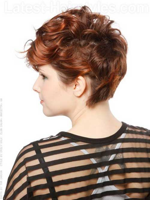 Multicolor Short Curly Styles
