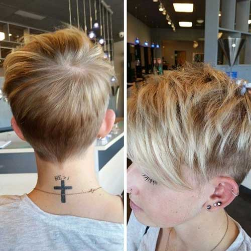 Simple Short Hairstyles for Fine Hair