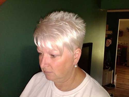 Spiky Short Pixie Haircuts for Over 50