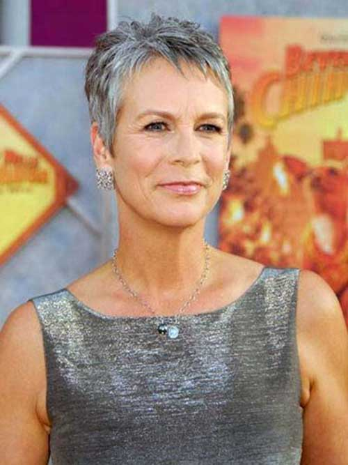Short Pixie Thin Haircuts for Over 50