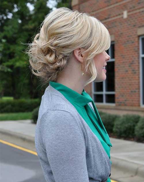 Trendy Updos for Short Hair