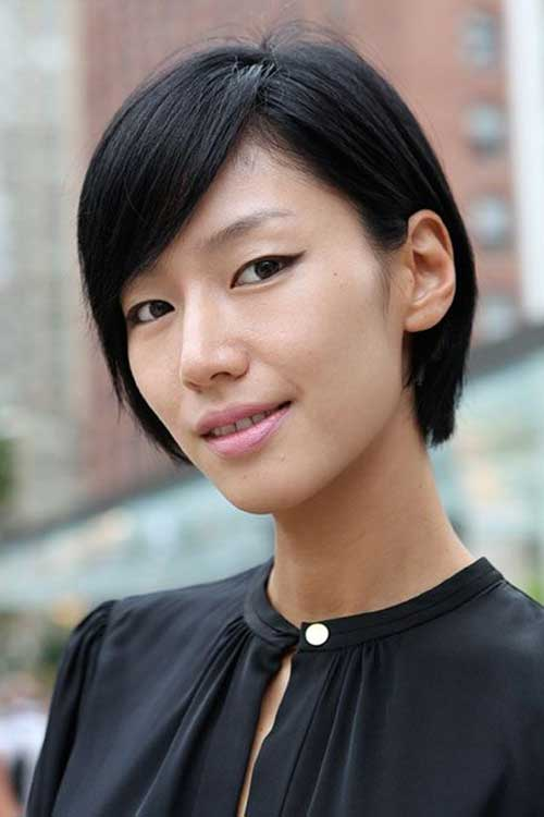 Asian Short Hairstyles for Fine Thin Hair