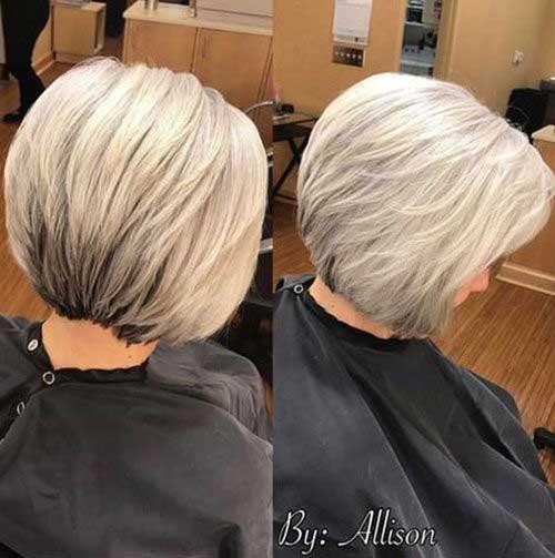 Bob Short Hair Cuts Over 50