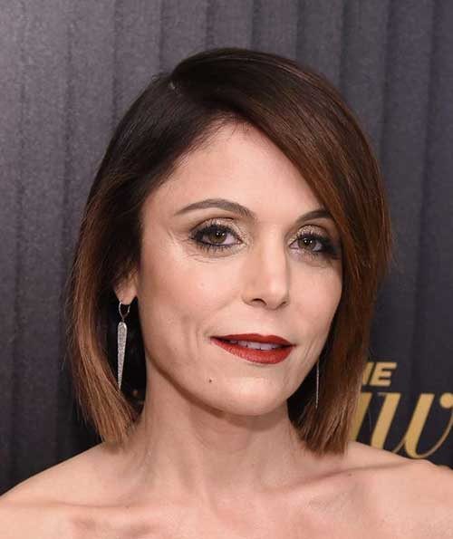 Celebrity Short Hair Cuts Over 50