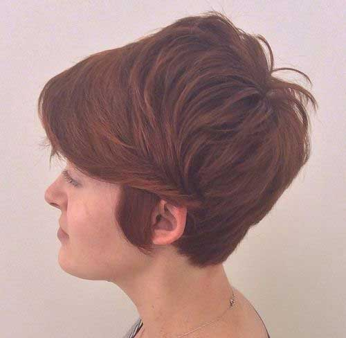 Choppy Long Pixie Hairstyles