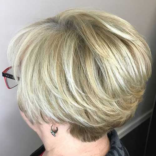 Classy Short Hair Cuts Over 50