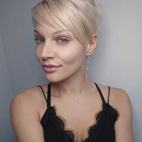 Cute Long Pixie Hairstyles
