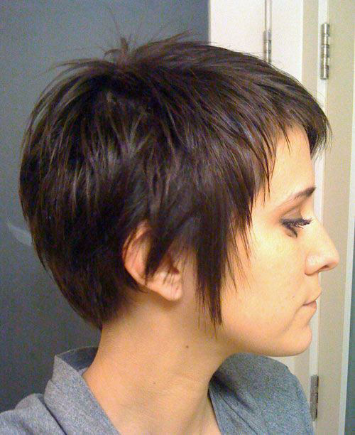Layered Short Cuts for Thick Hair