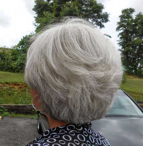 Layered Short Hair Cuts Over 50
