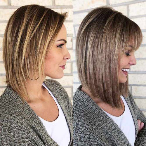 Long Bob Hair Ideas