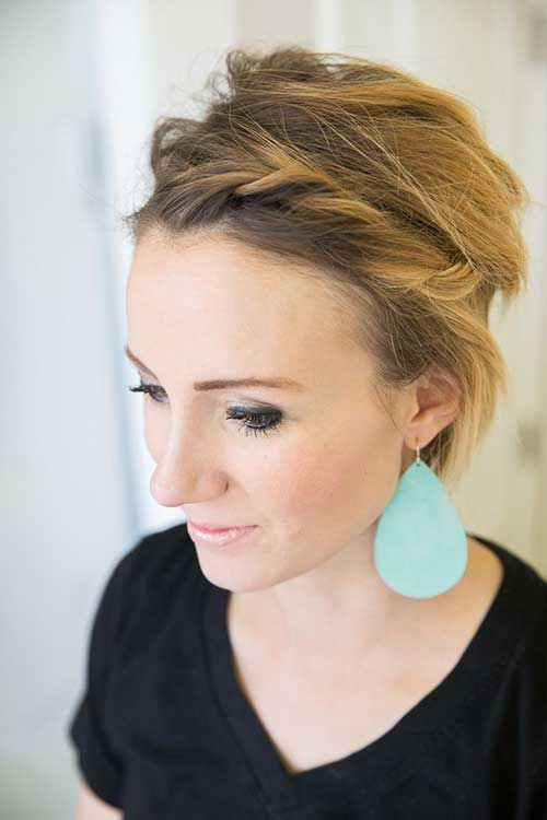 Chic Long Pixie Hairstyles