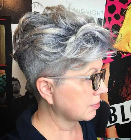 Long Undercut Pixie Hairstyles