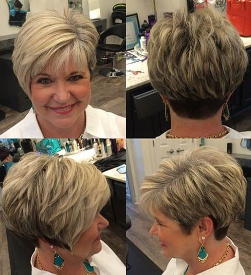 Low Maintenance Short Hair Cuts Over 50