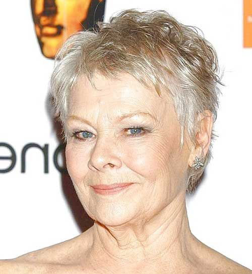 Pixie Style Short Hair Cuts Over 50