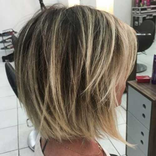 Pretty Long Bob Hairstyle Ideas
