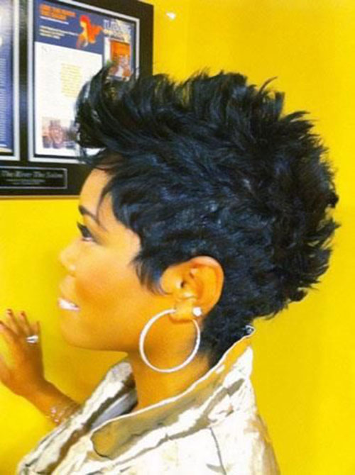 Short Mohawk Haircuts for Black Women