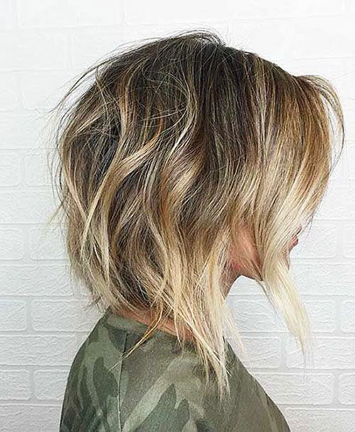 Shaggy Long Bob Hairstyle Ideas