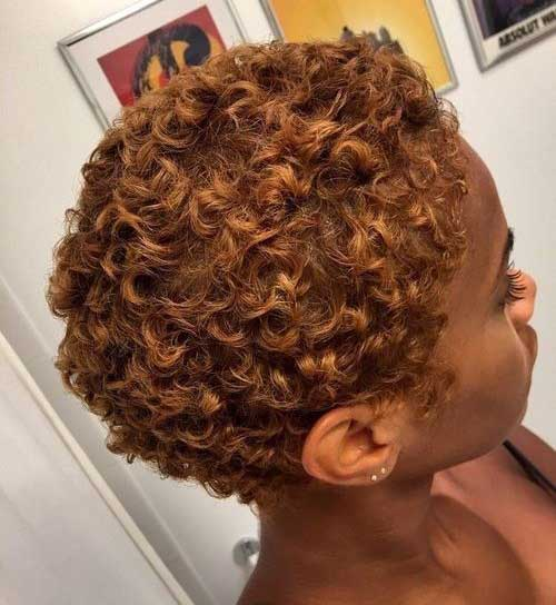 Short Pixie Haircuts for Black Women