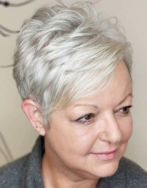 Short Hair Cuts Over 50 Ladies