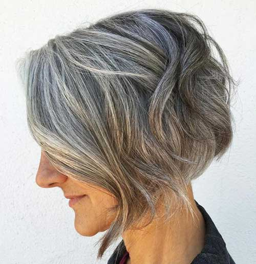 Short Hair Cuts Over Age 50