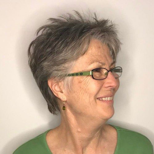 Short Pixie Hair Cuts Over 50